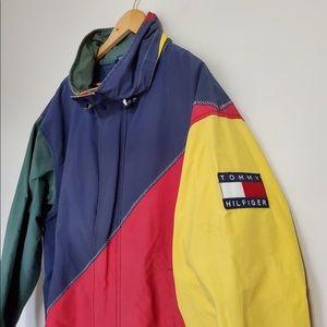 Vintage Tommy Hilfiger Colorblock Windbreaker
